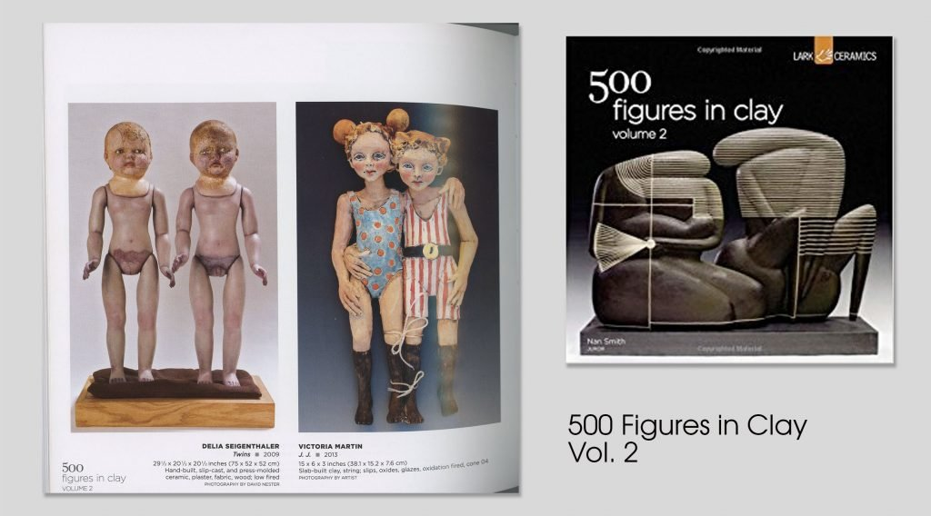 victoria rose martin in the book 500 figures in clay