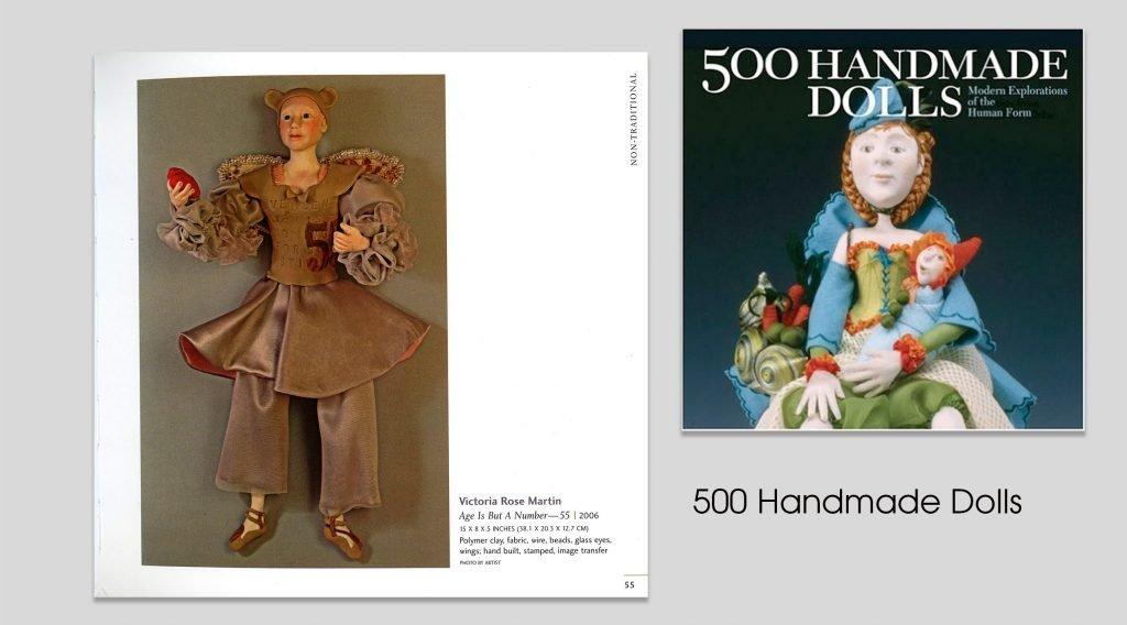 victoria rose martin 500 dolls book
